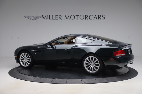 Used 2003 Aston Martin V12 Vanquish Coupe for sale $79,900 at Rolls-Royce Motor Cars Greenwich in Greenwich CT 06830 3