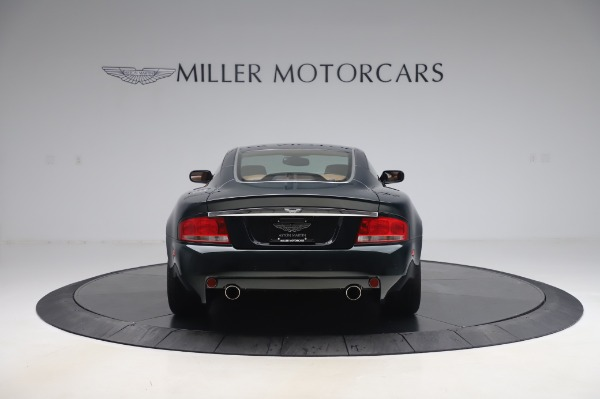 Used 2003 Aston Martin V12 Vanquish Coupe for sale $79,900 at Rolls-Royce Motor Cars Greenwich in Greenwich CT 06830 5