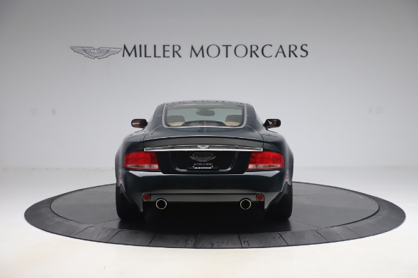 Used 2003 Aston Martin V12 Vanquish Coupe for sale $79,900 at Rolls-Royce Motor Cars Greenwich in Greenwich CT 06830 6