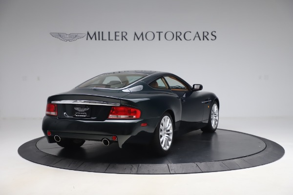 Used 2003 Aston Martin V12 Vanquish Coupe for sale $79,900 at Rolls-Royce Motor Cars Greenwich in Greenwich CT 06830 7