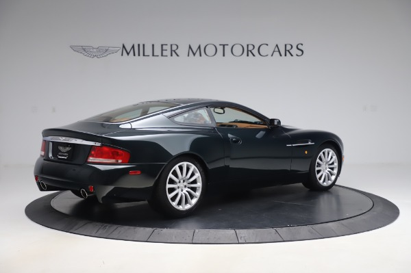 Used 2003 Aston Martin V12 Vanquish Coupe for sale $79,900 at Rolls-Royce Motor Cars Greenwich in Greenwich CT 06830 8