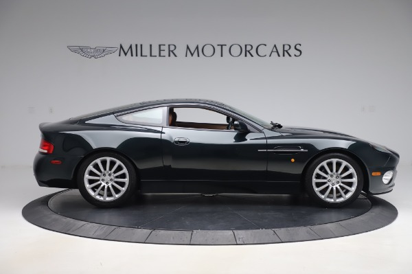 Used 2003 Aston Martin V12 Vanquish Coupe for sale $79,900 at Rolls-Royce Motor Cars Greenwich in Greenwich CT 06830 9