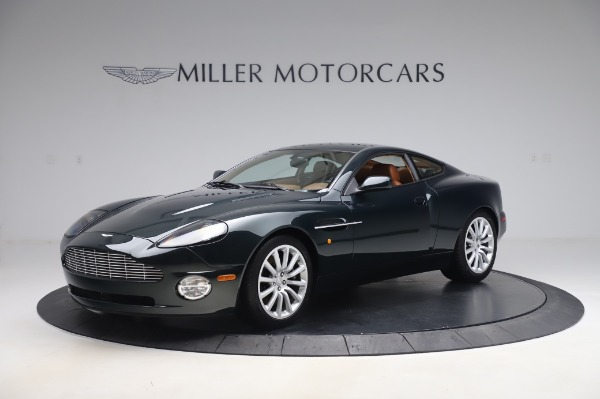 Used 2003 Aston Martin V12 Vanquish Coupe for sale $79,900 at Rolls-Royce Motor Cars Greenwich in Greenwich CT 06830 1