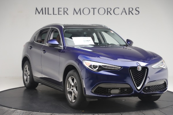 New 2020 Alfa Romeo Stelvio Q4 for sale $49,795 at Rolls-Royce Motor Cars Greenwich in Greenwich CT 06830 11