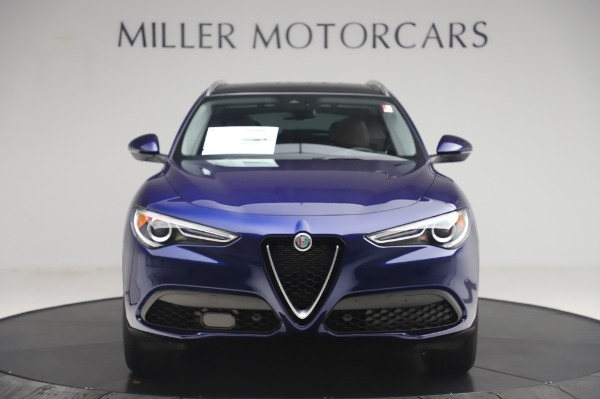 New 2020 Alfa Romeo Stelvio Q4 for sale $49,795 at Rolls-Royce Motor Cars Greenwich in Greenwich CT 06830 12