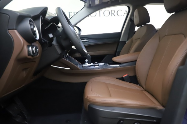 New 2020 Alfa Romeo Stelvio Q4 for sale $49,795 at Rolls-Royce Motor Cars Greenwich in Greenwich CT 06830 16