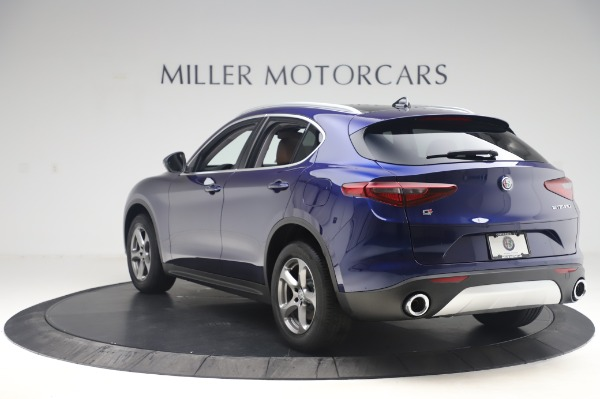 New 2020 Alfa Romeo Stelvio Q4 for sale $49,795 at Rolls-Royce Motor Cars Greenwich in Greenwich CT 06830 5