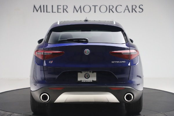 New 2020 Alfa Romeo Stelvio Q4 for sale $49,795 at Rolls-Royce Motor Cars Greenwich in Greenwich CT 06830 6