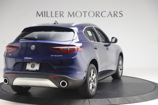 New 2020 Alfa Romeo Stelvio Q4 for sale $49,795 at Rolls-Royce Motor Cars Greenwich in Greenwich CT 06830 7