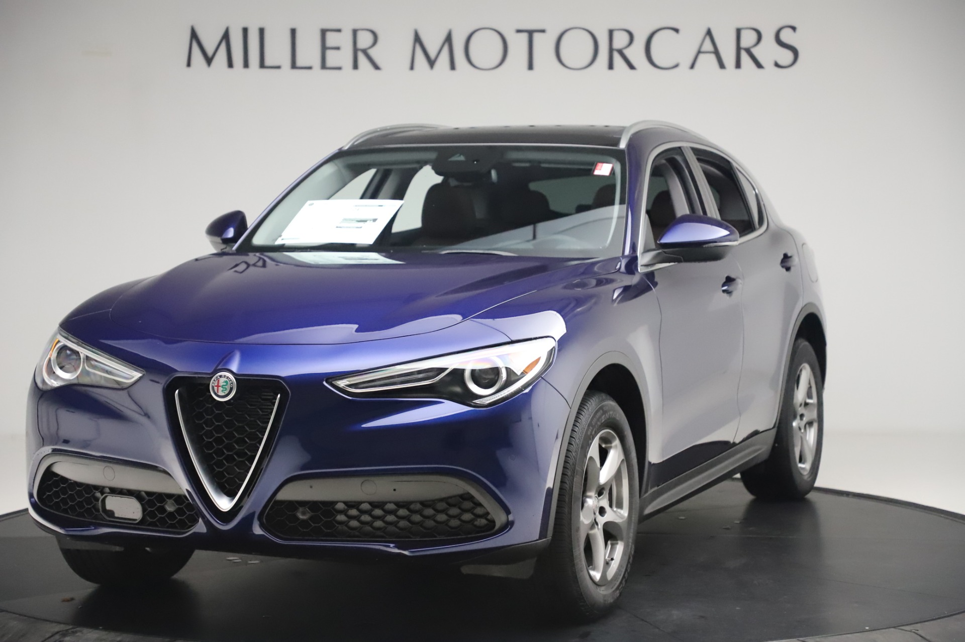 New 2020 Alfa Romeo Stelvio Q4 for sale $49,795 at Rolls-Royce Motor Cars Greenwich in Greenwich CT 06830 1