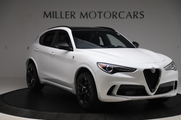 New 2020 Alfa Romeo Stelvio Quadrifoglio for sale Sold at Rolls-Royce Motor Cars Greenwich in Greenwich CT 06830 11