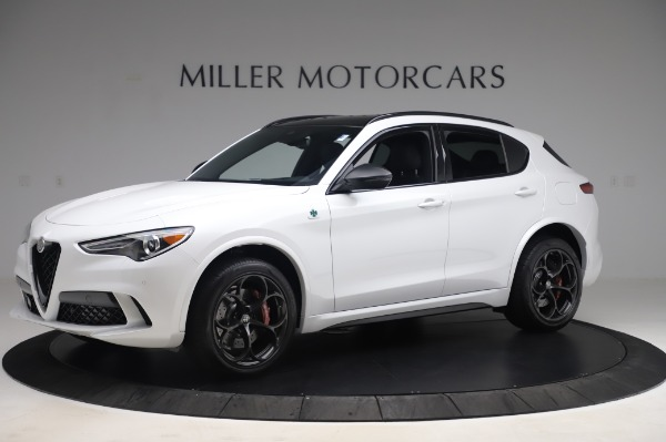 New 2020 Alfa Romeo Stelvio Quadrifoglio for sale Sold at Rolls-Royce Motor Cars Greenwich in Greenwich CT 06830 2