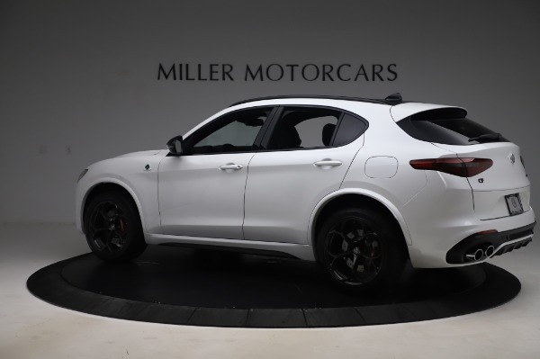 New 2020 Alfa Romeo Stelvio Quadrifoglio for sale Sold at Rolls-Royce Motor Cars Greenwich in Greenwich CT 06830 4