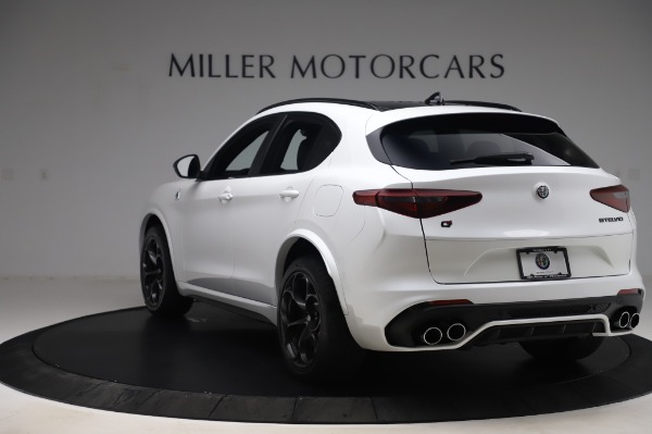 New 2020 Alfa Romeo Stelvio Quadrifoglio for sale Sold at Rolls-Royce Motor Cars Greenwich in Greenwich CT 06830 5