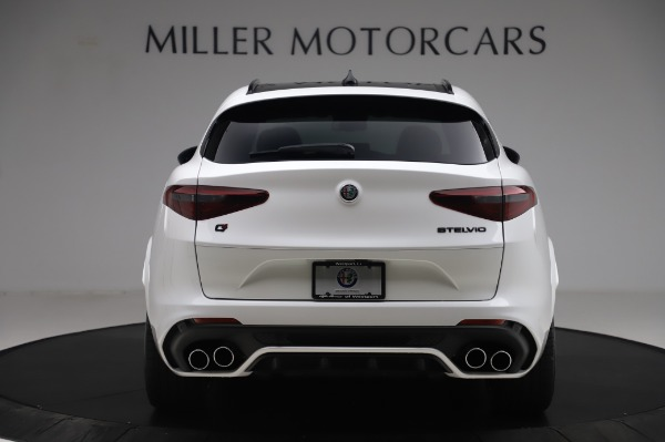 New 2020 Alfa Romeo Stelvio Quadrifoglio for sale Sold at Rolls-Royce Motor Cars Greenwich in Greenwich CT 06830 6