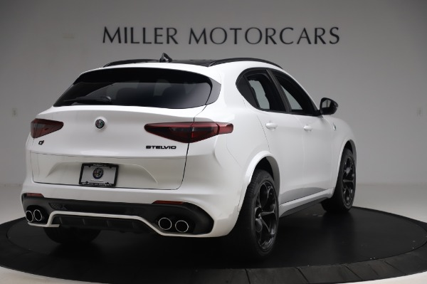 New 2020 Alfa Romeo Stelvio Quadrifoglio for sale Sold at Rolls-Royce Motor Cars Greenwich in Greenwich CT 06830 7