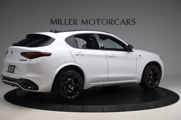 New 2020 Alfa Romeo Stelvio Quadrifoglio for sale Sold at Rolls-Royce Motor Cars Greenwich in Greenwich CT 06830 8