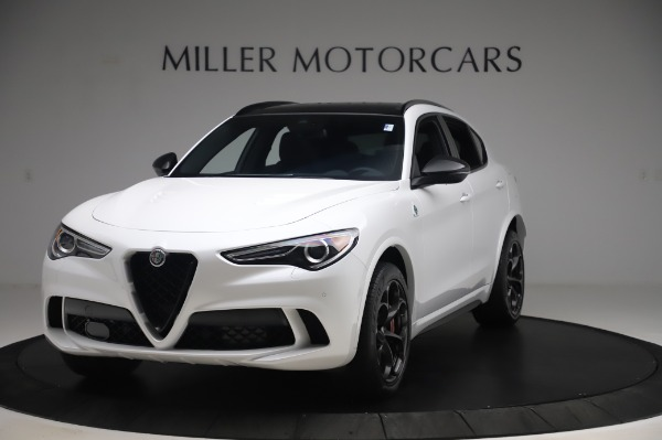 New 2020 Alfa Romeo Stelvio Quadrifoglio for sale Sold at Rolls-Royce Motor Cars Greenwich in Greenwich CT 06830 1