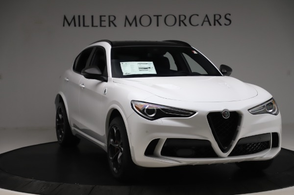 New 2020 Alfa Romeo Stelvio Quadrifoglio for sale $89,145 at Rolls-Royce Motor Cars Greenwich in Greenwich CT 06830 11