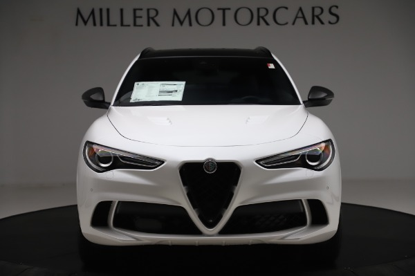 New 2020 Alfa Romeo Stelvio Quadrifoglio for sale $89,145 at Rolls-Royce Motor Cars Greenwich in Greenwich CT 06830 12