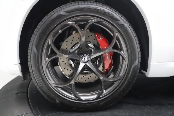 New 2020 Alfa Romeo Stelvio Quadrifoglio for sale $89,145 at Rolls-Royce Motor Cars Greenwich in Greenwich CT 06830 16