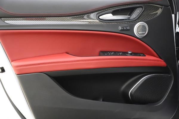 New 2020 Alfa Romeo Stelvio Quadrifoglio for sale $89,145 at Rolls-Royce Motor Cars Greenwich in Greenwich CT 06830 26