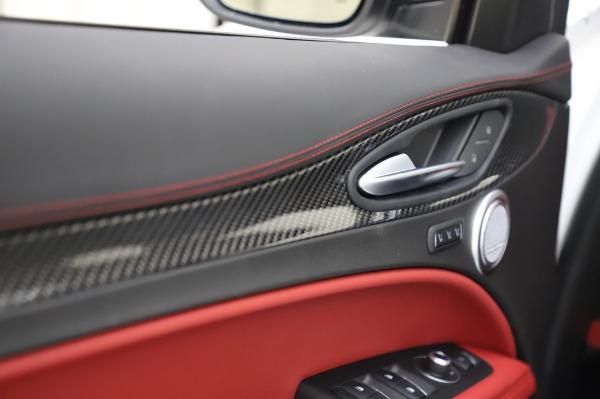 New 2020 Alfa Romeo Stelvio Quadrifoglio for sale $89,145 at Rolls-Royce Motor Cars Greenwich in Greenwich CT 06830 27