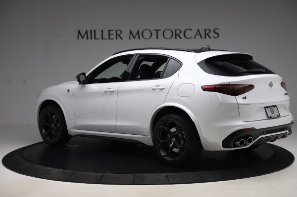 New 2020 Alfa Romeo Stelvio Quadrifoglio for sale $89,145 at Rolls-Royce Motor Cars Greenwich in Greenwich CT 06830 4
