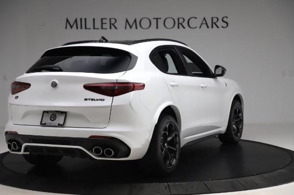 New 2020 Alfa Romeo Stelvio Quadrifoglio for sale $89,145 at Rolls-Royce Motor Cars Greenwich in Greenwich CT 06830 7
