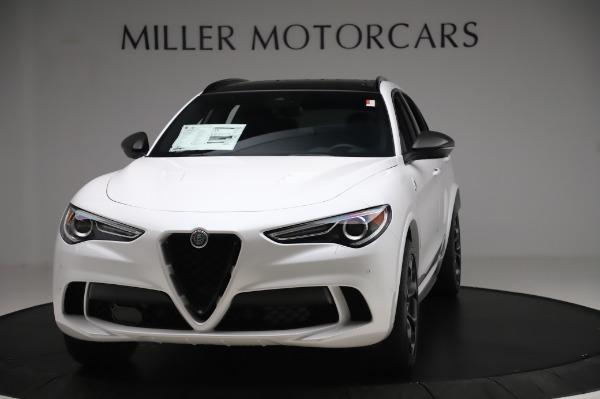 New 2020 Alfa Romeo Stelvio Quadrifoglio for sale $89,145 at Rolls-Royce Motor Cars Greenwich in Greenwich CT 06830 1