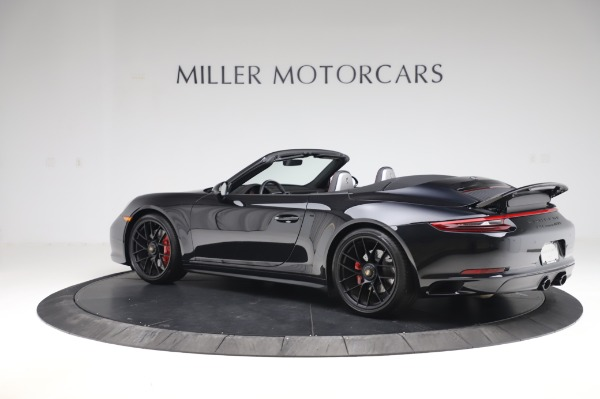 Used 2018 Porsche 911 Carrera 4 GTS for sale $137,900 at Rolls-Royce Motor Cars Greenwich in Greenwich CT 06830 3