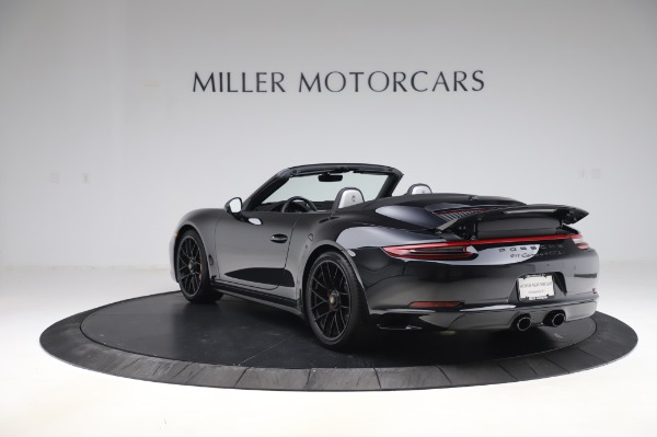 Used 2018 Porsche 911 Carrera 4 GTS for sale $137,900 at Rolls-Royce Motor Cars Greenwich in Greenwich CT 06830 4