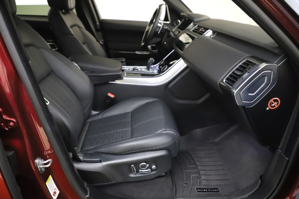Used 2019 Land Rover Range Rover Sport Autobiography for sale Sold at Rolls-Royce Motor Cars Greenwich in Greenwich CT 06830 20