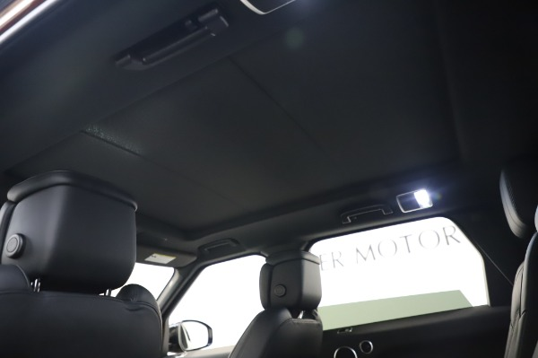 Used 2019 Land Rover Range Rover Sport Autobiography for sale Sold at Rolls-Royce Motor Cars Greenwich in Greenwich CT 06830 21