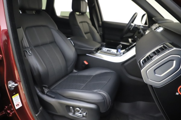 Used 2019 Land Rover Range Rover Sport Autobiography for sale Sold at Rolls-Royce Motor Cars Greenwich in Greenwich CT 06830 22