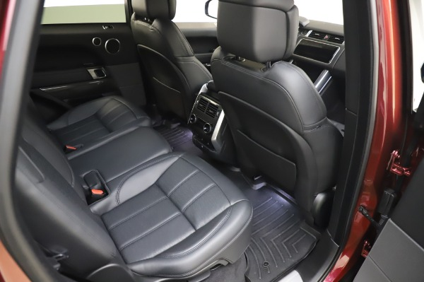 Used 2019 Land Rover Range Rover Sport Autobiography for sale Sold at Rolls-Royce Motor Cars Greenwich in Greenwich CT 06830 23