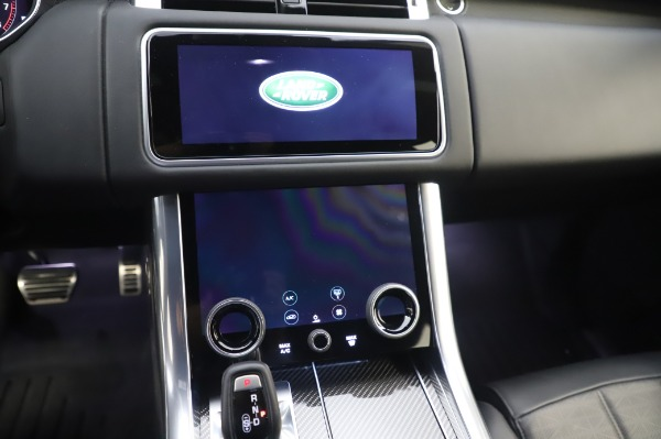 Used 2019 Land Rover Range Rover Sport Autobiography for sale Sold at Rolls-Royce Motor Cars Greenwich in Greenwich CT 06830 26