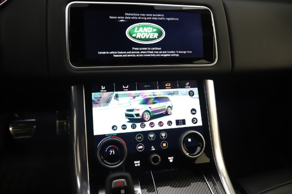 Used 2019 Land Rover Range Rover Sport Autobiography for sale Sold at Rolls-Royce Motor Cars Greenwich in Greenwich CT 06830 27