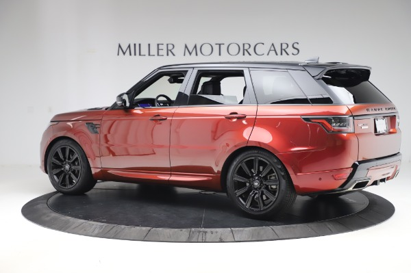 Used 2019 Land Rover Range Rover Sport Autobiography for sale Sold at Rolls-Royce Motor Cars Greenwich in Greenwich CT 06830 4