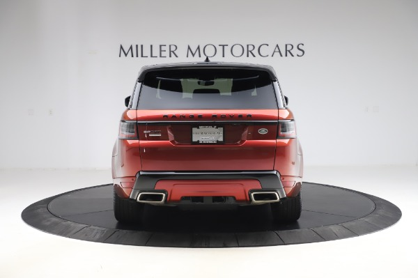 Used 2019 Land Rover Range Rover Sport Autobiography for sale Sold at Rolls-Royce Motor Cars Greenwich in Greenwich CT 06830 6