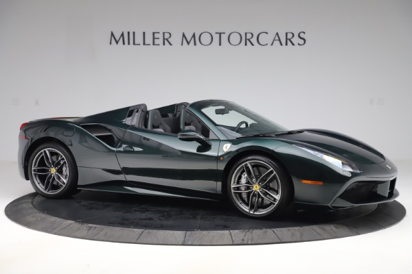Used 2019 Ferrari 488 Spider Base for sale $329,900 at Rolls-Royce Motor Cars Greenwich in Greenwich CT 06830 10