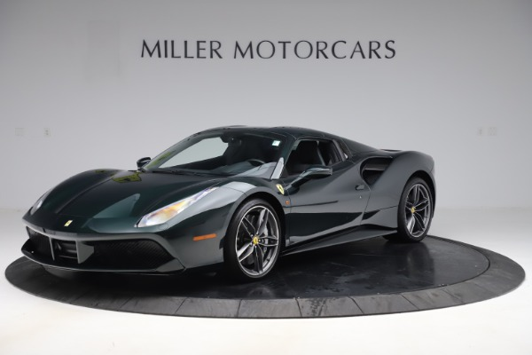 Used 2019 Ferrari 488 Spider Base for sale $329,900 at Rolls-Royce Motor Cars Greenwich in Greenwich CT 06830 13