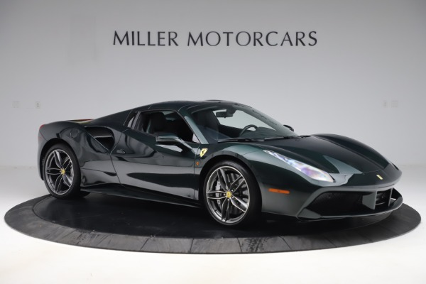 Used 2019 Ferrari 488 Spider Base for sale $329,900 at Rolls-Royce Motor Cars Greenwich in Greenwich CT 06830 18
