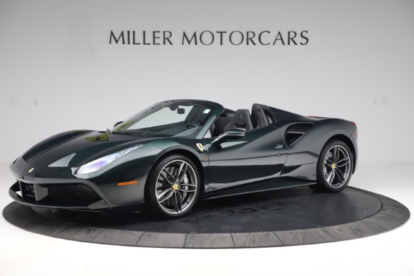Used 2019 Ferrari 488 Spider Base for sale $329,900 at Rolls-Royce Motor Cars Greenwich in Greenwich CT 06830 2