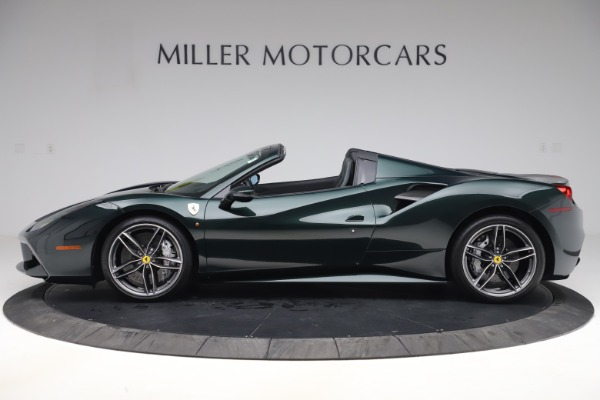 Used 2019 Ferrari 488 Spider Base for sale $329,900 at Rolls-Royce Motor Cars Greenwich in Greenwich CT 06830 3