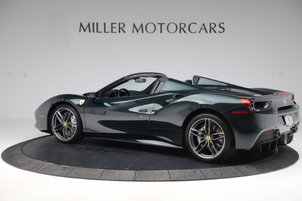 Used 2019 Ferrari 488 Spider Base for sale $329,900 at Rolls-Royce Motor Cars Greenwich in Greenwich CT 06830 4
