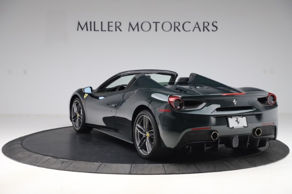 Used 2019 Ferrari 488 Spider Base for sale $329,900 at Rolls-Royce Motor Cars Greenwich in Greenwich CT 06830 5