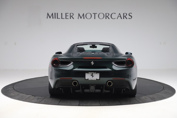 Used 2019 Ferrari 488 Spider Base for sale $329,900 at Rolls-Royce Motor Cars Greenwich in Greenwich CT 06830 6