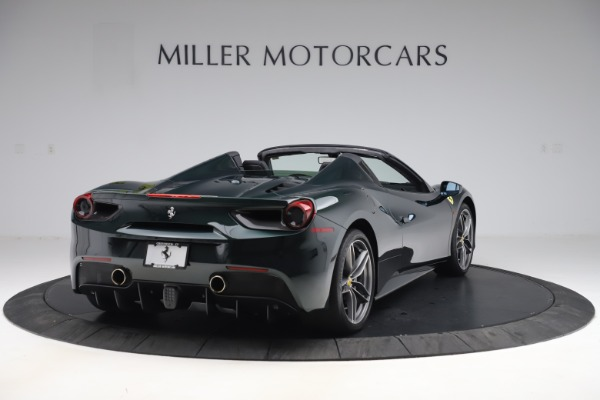 Used 2019 Ferrari 488 Spider Base for sale $329,900 at Rolls-Royce Motor Cars Greenwich in Greenwich CT 06830 7