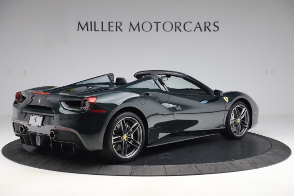 Used 2019 Ferrari 488 Spider Base for sale $329,900 at Rolls-Royce Motor Cars Greenwich in Greenwich CT 06830 8